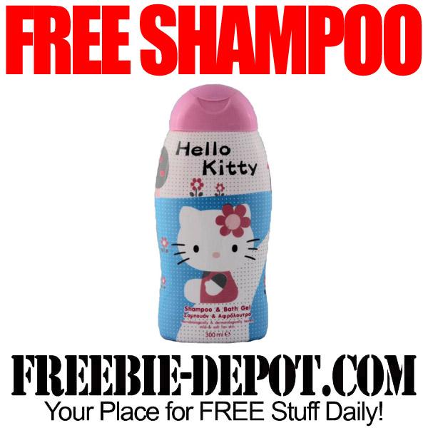 Free Shampoo Hello Kitty