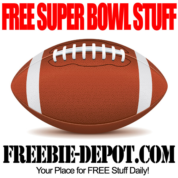 FREE Super Bowl Stuff – FREE Football Stuff – FREE Stuff for Superbowl Sunday
