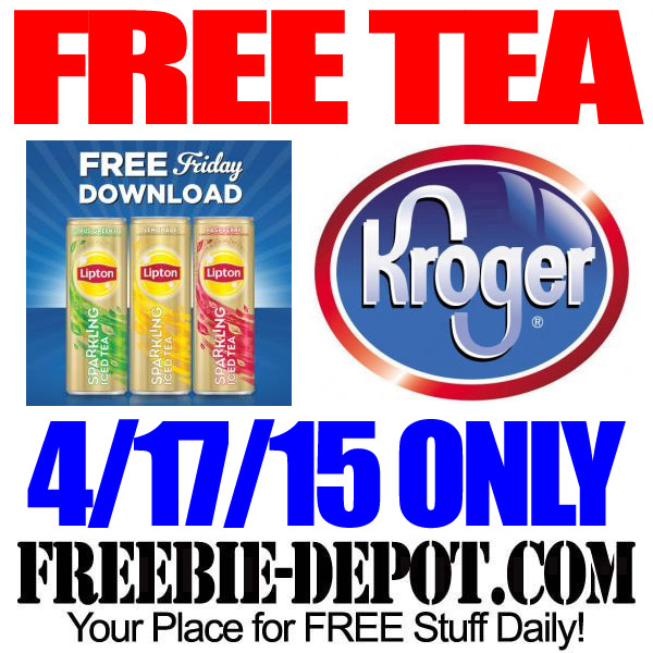 Free Friday Download at Kroger for Lipton Tea