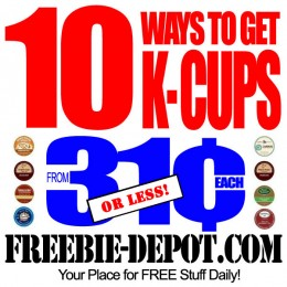 10 Ways to get Cheap K-Cups – from 31¢ (or less) – Keurig K-Cups Sale – K-Cups Closeouts – K-Cups Clearance – How to get the Cheapest K-Cups