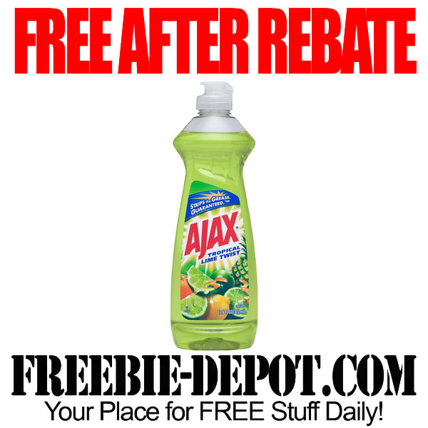 Free After Rebate Ajax Dish Soap