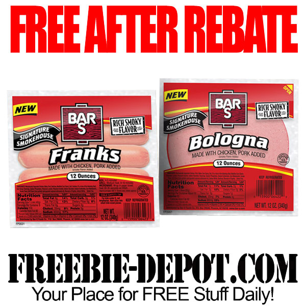Free After Rebate Bologna and Hot Dogs