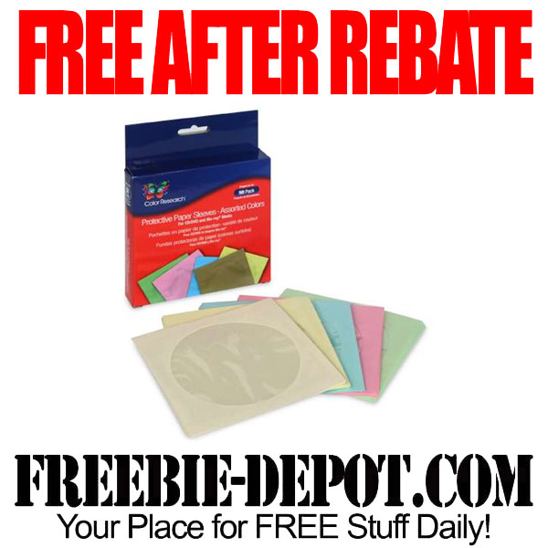 50 Free After Rebate CD Sleeves
