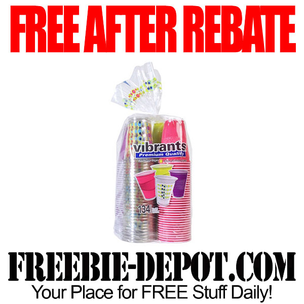 Free After Rebate Party Cups