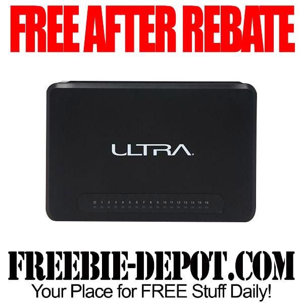 Free After Rebate Ethernet ULTRA