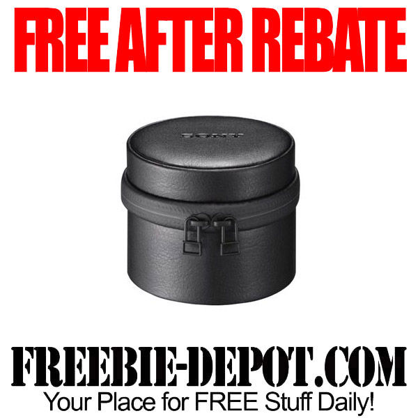 Free After Rebate Lens Case for Cameras