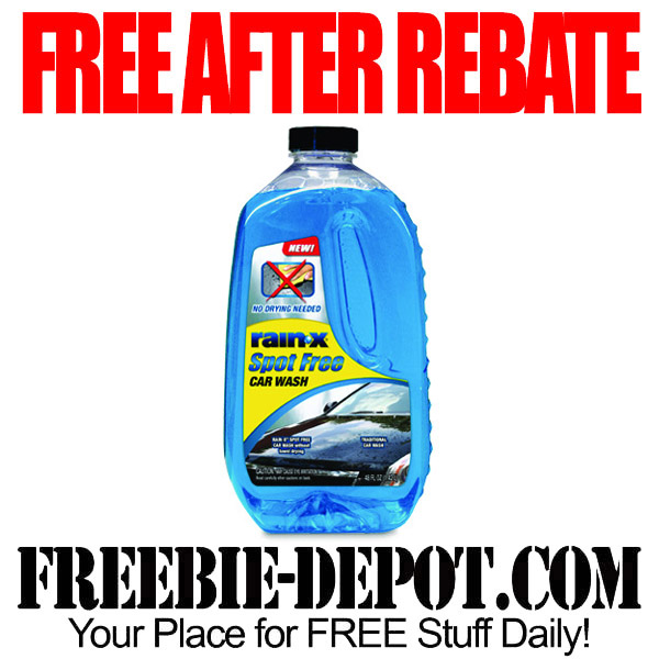 Free After Rebate Rain-X Car Wash