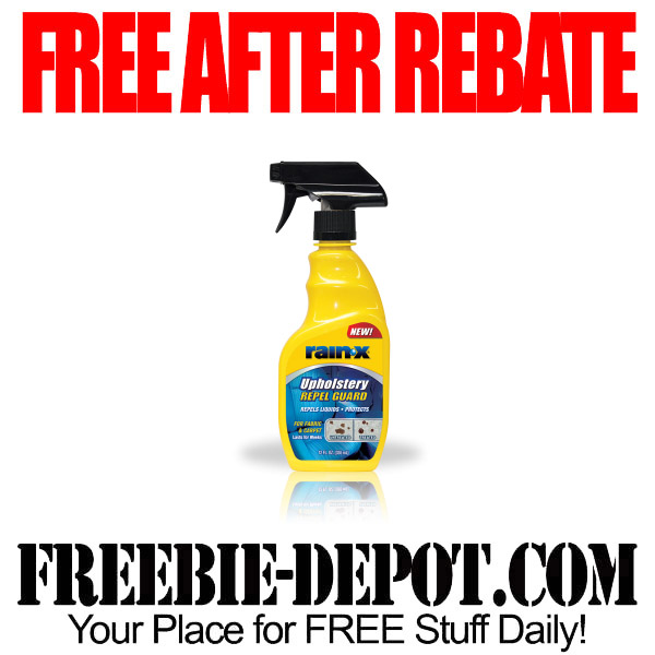 FREE AFTER REBATE – RainX Upholstery Repel Guard – Try Me FREE Upholstery Cleaner – Exp 7/1/15