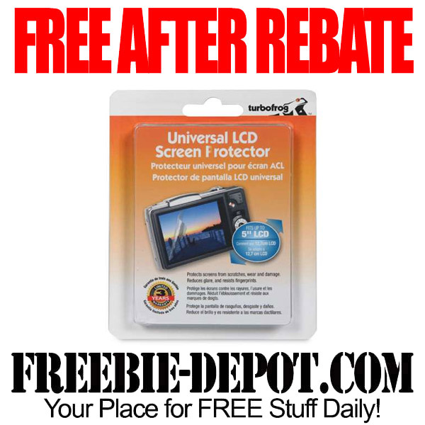 FREE After Mail In Rebate Screen Cleaner