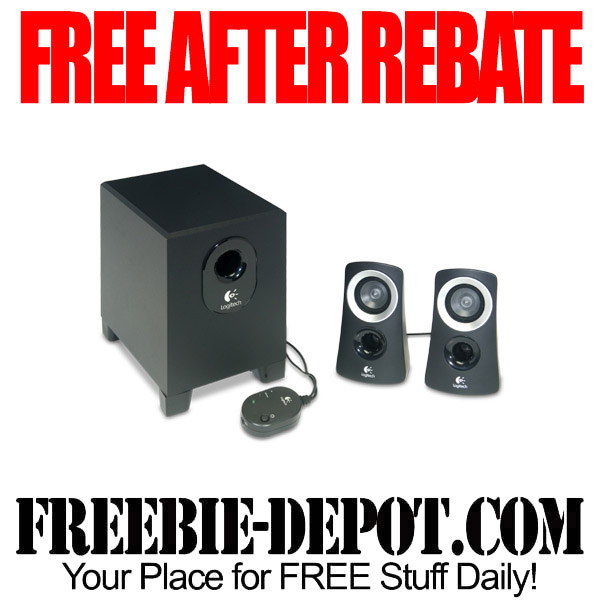 Free After Rebate Speaker Set