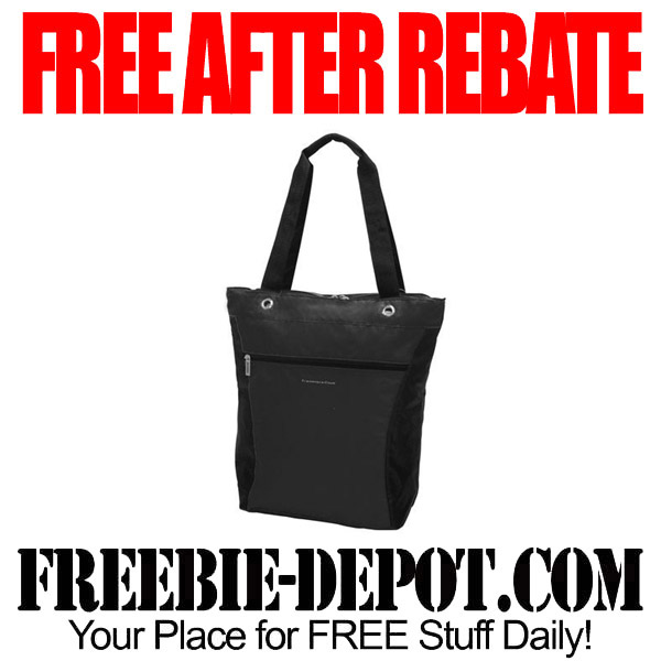 Free After Rebate Black Tote Bag