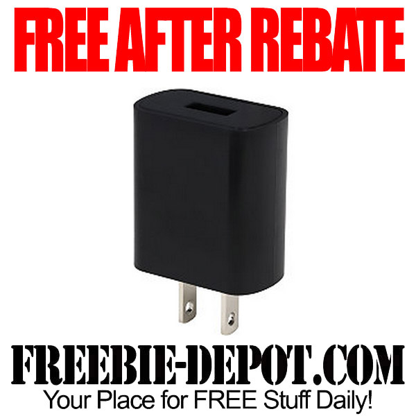 Free After Rebate USB Wall Charger