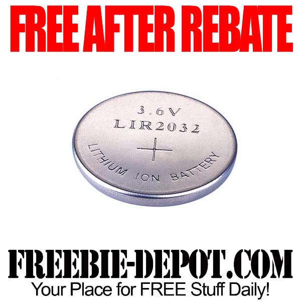 Free After Rebate Watch Batteries