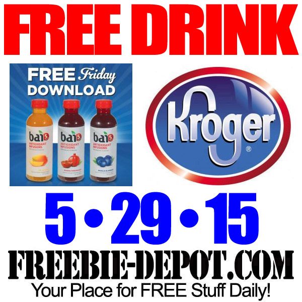Free Bai5 Natural Drink at Kroger