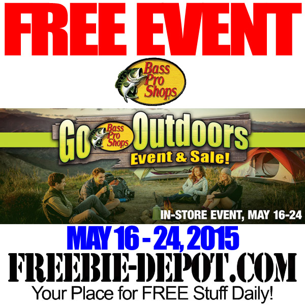 Free Bass Pro Outdoor Event and Seminars