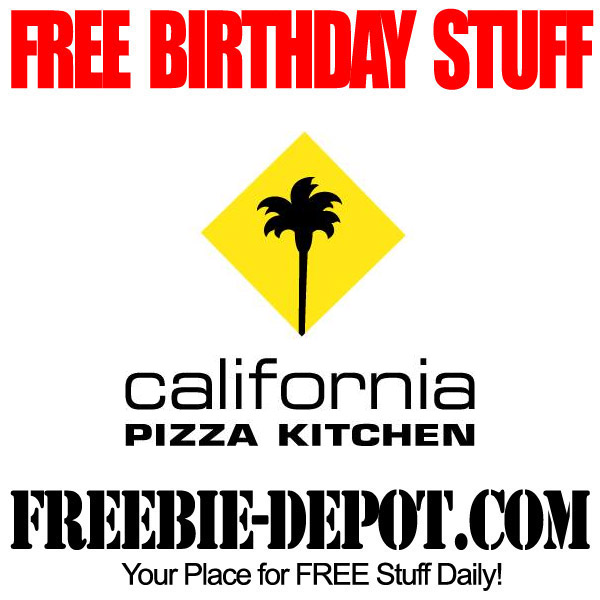 California Pizza Kitchen Birthday Freebie