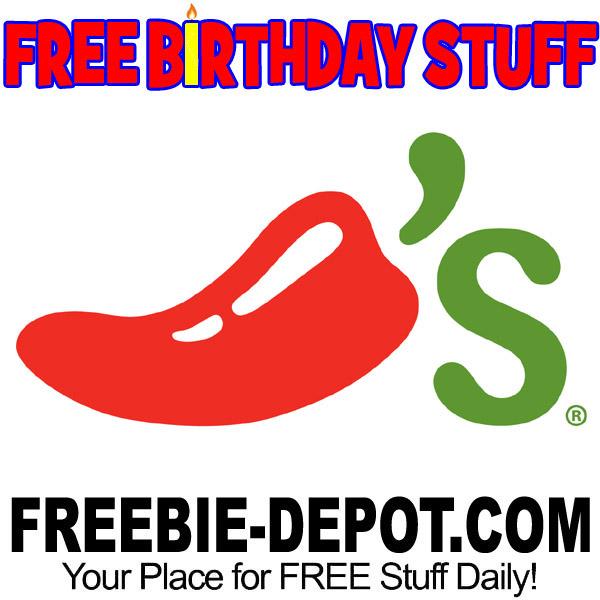 FREE BIRTHDAY STUFF – Chili's Grill & Bar