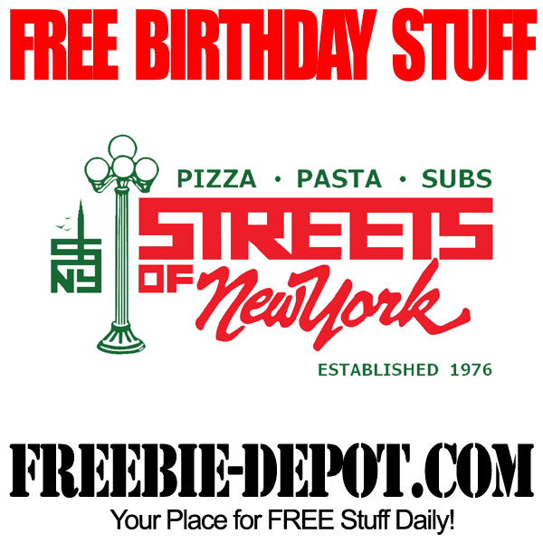 Free Birthday Dessert at Streets of New York