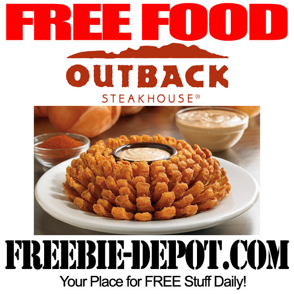 FREE Bloomin' Onion at Outback Steakhouse – 6/1/15 ONLY