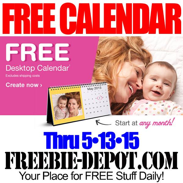 FREE Desktop Calendar from Walgreens – FREE Photo Calendar – Exp 5/13/15