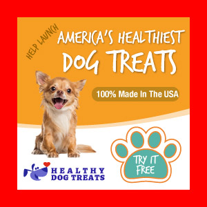 FREE Healthy Dog Treats – 3 FREE Bags of My Skinny Treats – LIMITED TIME