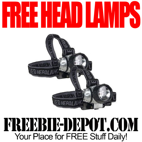 2 FREE Pair of Head Lamps