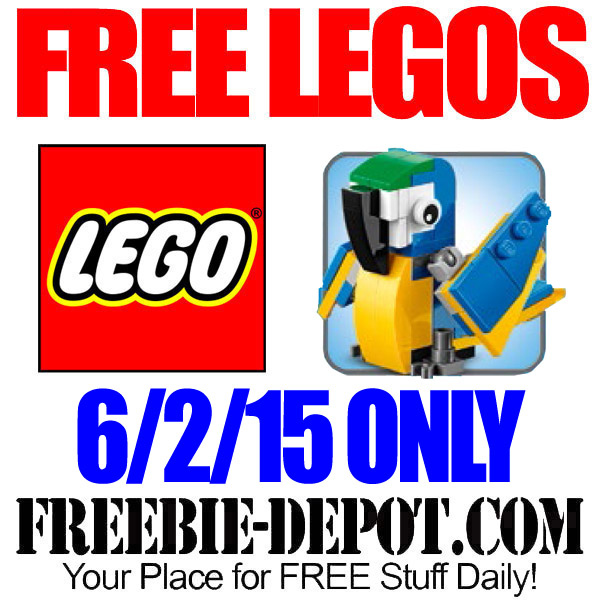 Free Lego Parrot