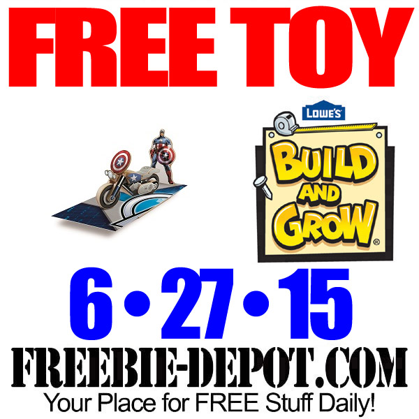 Free Toy Motorcycle at Lowes