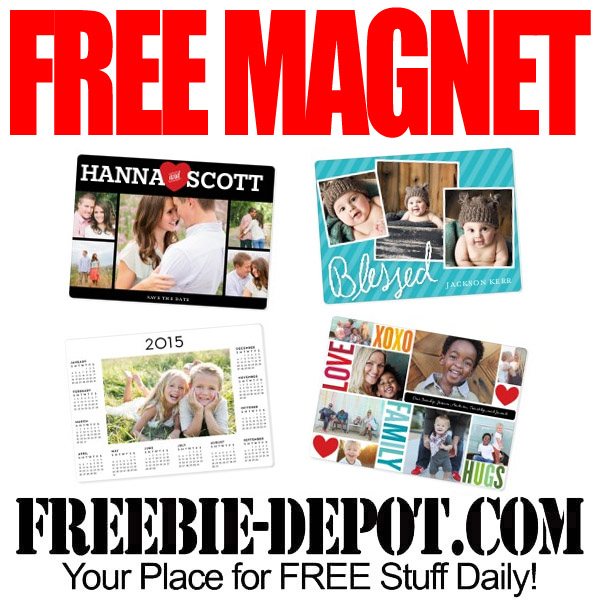 Free Photo Magnets from Shutterfly