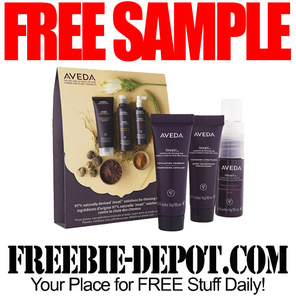 aveda haircut coupons free sample aveda invati haircare sample pack with 6211