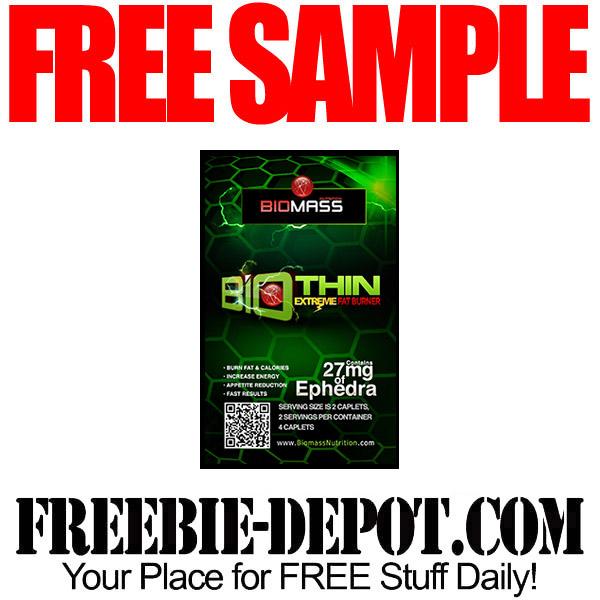FREE SAMPLE – BioThin Extreme Fat Burner – FREE Diet Pill Sample ...