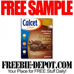 FREE SAMPLE – Calcet Citrate Creamy Bites – FREE Calcium Supplements Sample