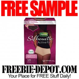 FREE SAMPLE – Depend Silhouette for Women – FREE Walmart Sample