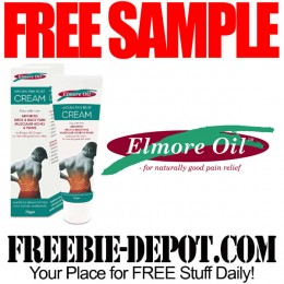 FREE SAMPLE – Elmore Oil  Natural Pain Relief – FREE Trial Pack