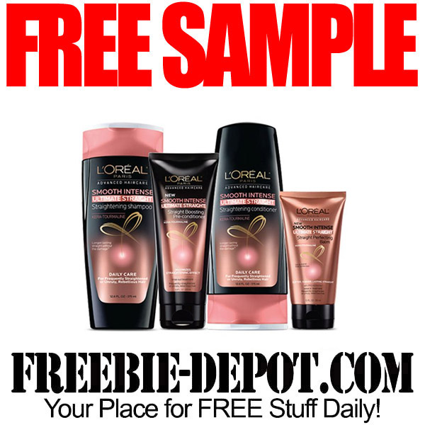 FREE SAMPLE – L'Oreal Hair Care Product – FREE Advanced Haircare ...