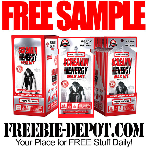 Free-Sample-Screamin-Energy
