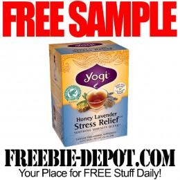 FREE SAMPLE – Yogi Tea – 2 FREE Herbal Teabags
