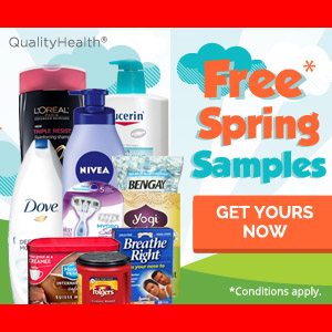 FREE SAMPLES for Spring from National Brands