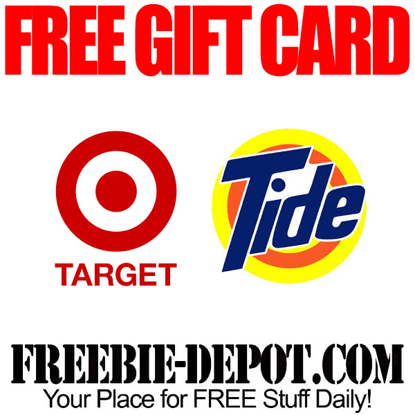 FREE Gift Card at Target with Tide Purchase – STOCK UP!  Exp 5/17/15