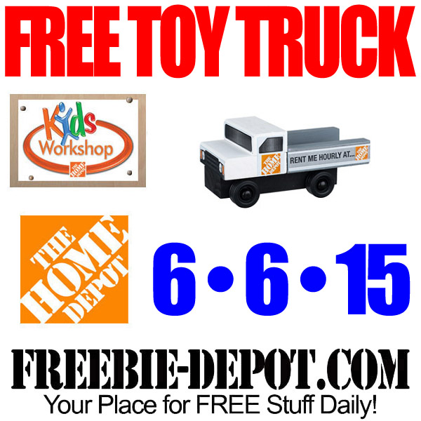 Free Toy Truck At Home Depot Free Kid Workshop Free Apron Pin