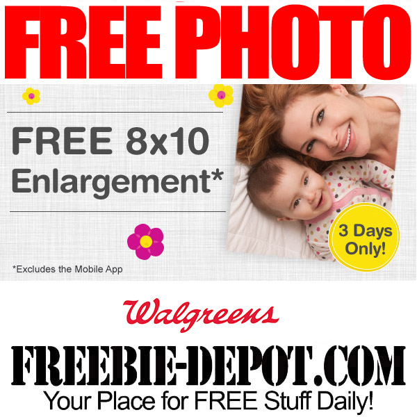Free Walgreens Picture Enlargement