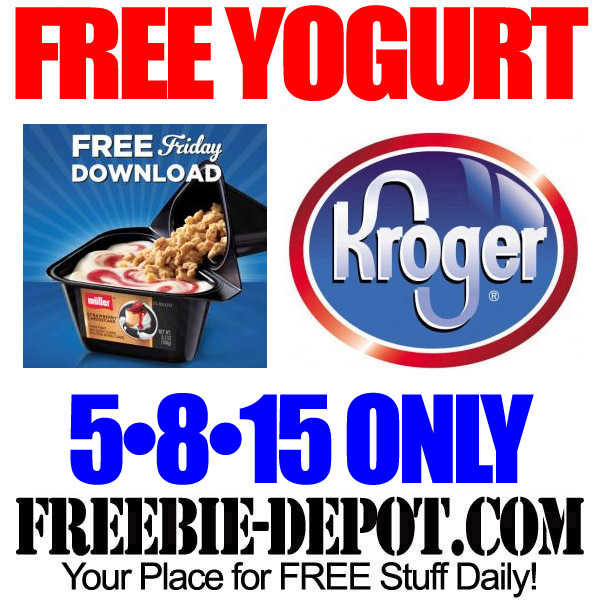 Free Yogurt Muller Kroger