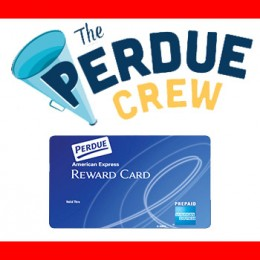 FREE $10 AMEX Gift Card from Perdue Crew