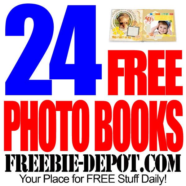 24 FREE Hard Cover Photo Books