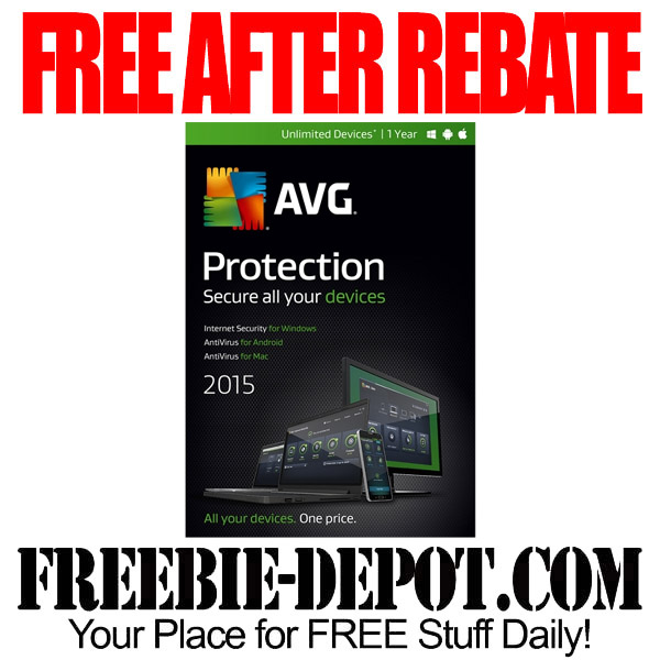 Free After Rebate AVG Protection