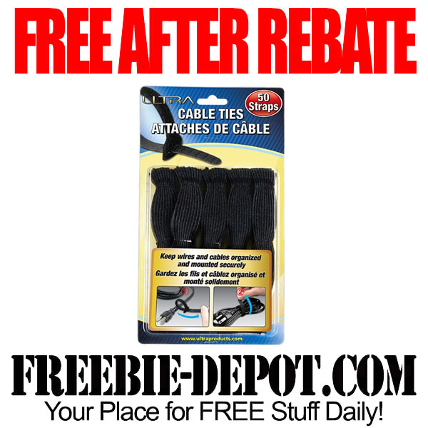 50 FREE Cable Ties for Computers After Rebate