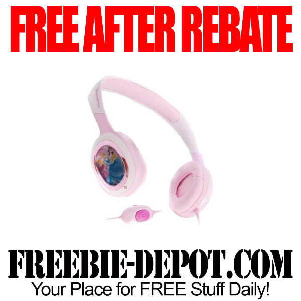 Free After Rebate Disney Earphones