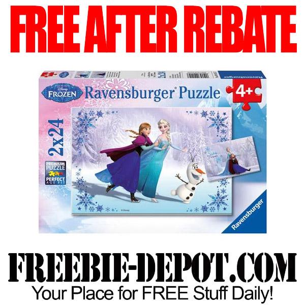 Free After Rebate Disney Puzzle