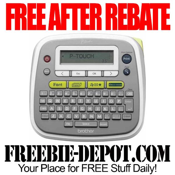 Free-After-Rebate-Label-Maker
