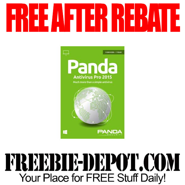 Free After Rebate Panda Antiviirus 2015